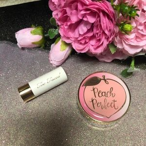 🍑 Too Faced LOOSE SETTING POWDER + Lipstick Minis
